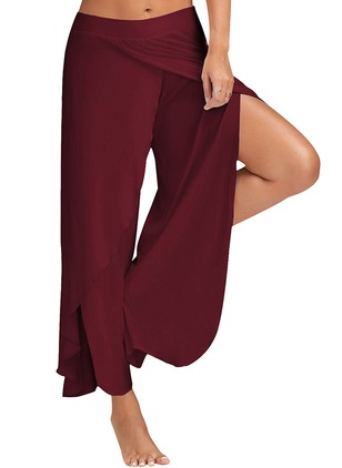 Loose Polyester Pants Pants & Leggings