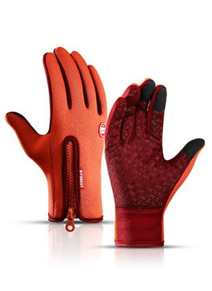 Women's Casual Leatherette Gloves & Mittens Winter Warm Comfort Thick Gloves (122030382)