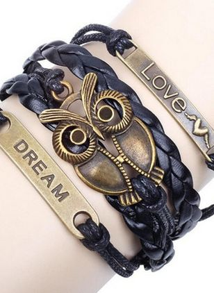 Casual Animal No Stone Bracelets (4088922)