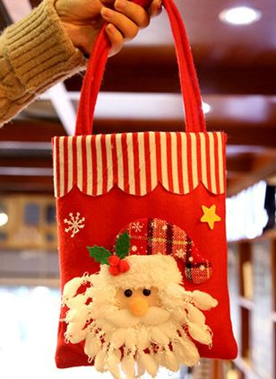 Tote Christmas Double Handle Bags (128228512)