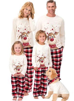 Family Look Animal Christmas Long Sleeve Family Outfits (122030169)