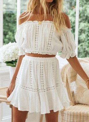 Off the Shoulder Two-pieces (147500874)