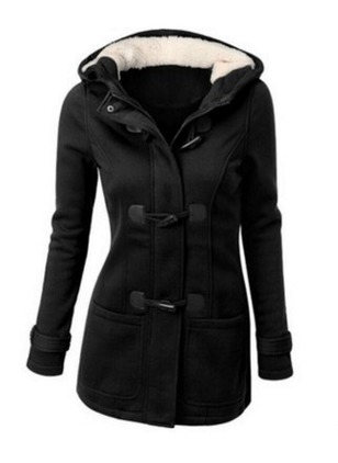 Long Sleeve Hooded Duffle Coats