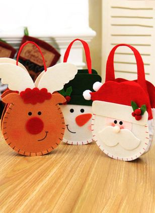 Tote Christmas Double Handle Bags (128228516)