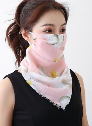 Casual Floral Scarves (1532332)