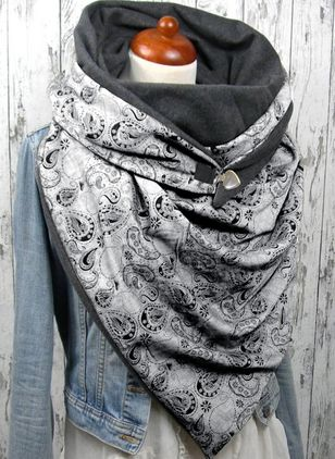 Casual Geometric Scarves (104147798)