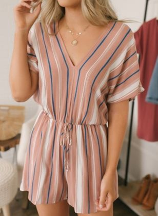 Short Sleeve Jumpsuits & Rompers (148032325)