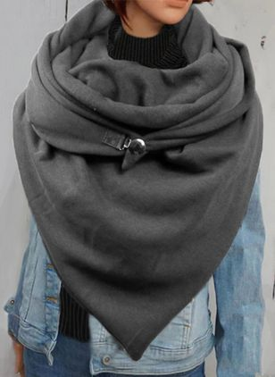 Casual Solid Scarves (146642725)