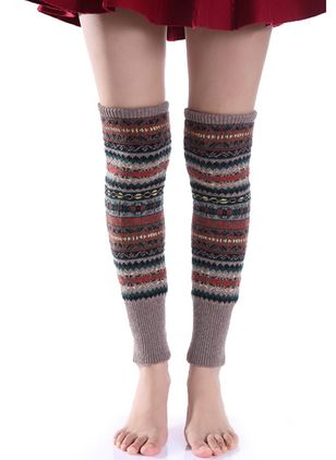 Women's Casual Cotton Blends Stockings & Tights Thigh High Stockings Socks (146643046)