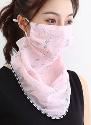 Casual Floral Scarves (107804965)