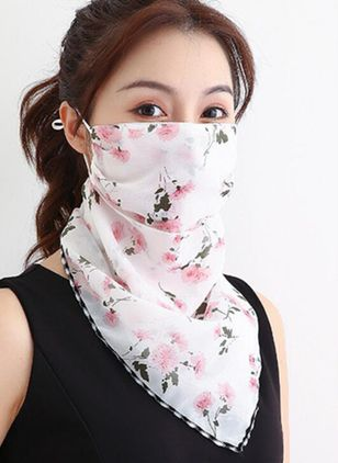 Casual Floral Scarves (1532335)