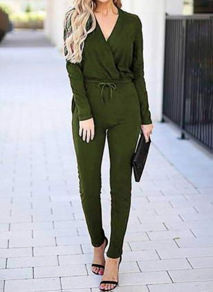 Women's Straight Pants Jumpsuits (100547795)