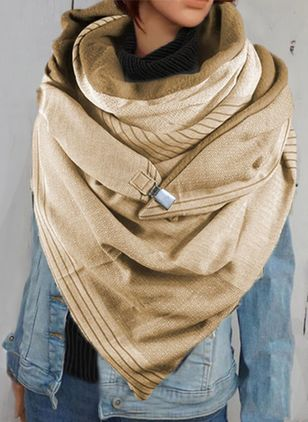 Casual Solid Scarves (146642730)