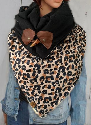 Casual Leopard Scarves (146642728)