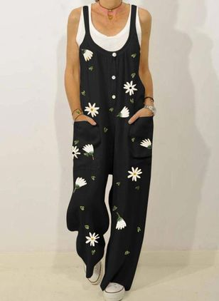 Women's Loose Jumpsuits (4045537)