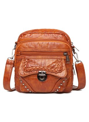 Shoulder Messenger Zipper Double Handle Bags (147243142)