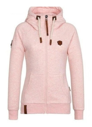 Cotton & Cotton Blend Long Sleeve Hooded Pockets Coats