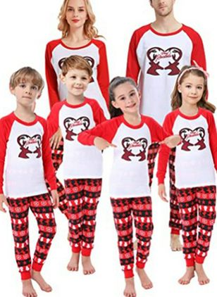 Family Look Animal Christmas Long Sleeve Family Outfits (146741953)