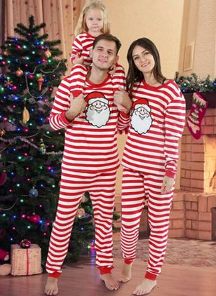 Family Look Character Christmas Long Sleeve Family Outfits (122030174)