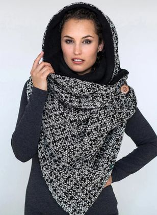Casual Geometric Scarves (146642929)