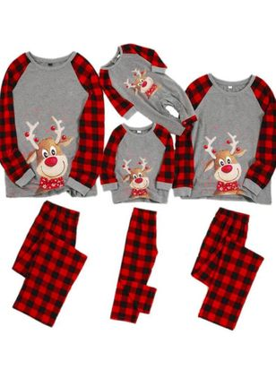 Family Look Animal Christmas Long Sleeve Family Outfits (146718996)