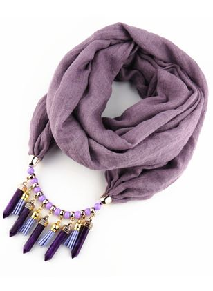 Casual Solid Scarves (122028761)