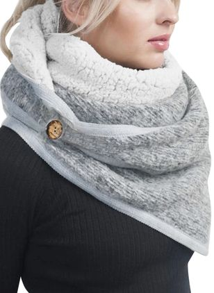 Casual Solid Scarves (146642721)