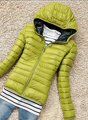 Polyester Long Sleeve Hooded Others Coats Coats & Jackets