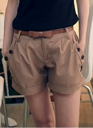 Harem Cotton Shorts Pants & Leggings