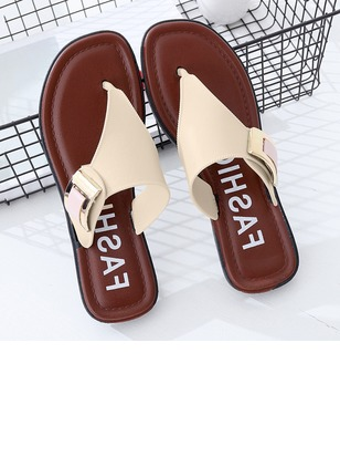 Grommet Flat Heel Shoes