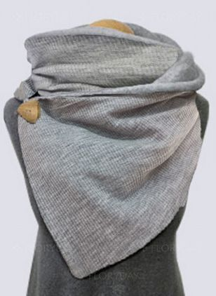 Casual Solid Scarves (146642914)