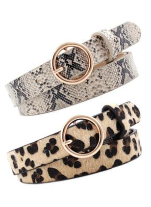 Casual Leopard Belts (107805110)