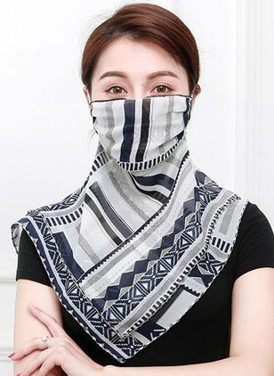 Casual Geometric Scarves (1523028)