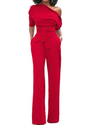 Half Sleeve Jumpsuits & Rompers (1399251)