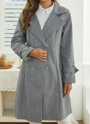 Long Sleeve Coats (146783425)