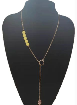 Casual Ball No Stone Pendant Necklaces (147089885)