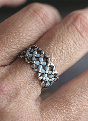 Geometric No Stone Rings (147050151)