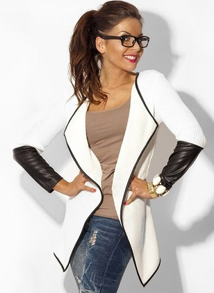 Polyester Long Sleeve Collar Others Jackets Coats & Jackets